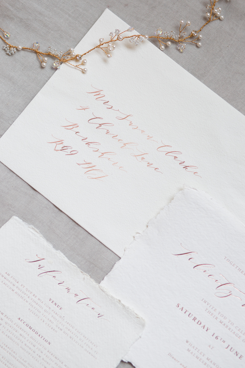 The Timeless Stylist - Wedding Stationery Inspiration