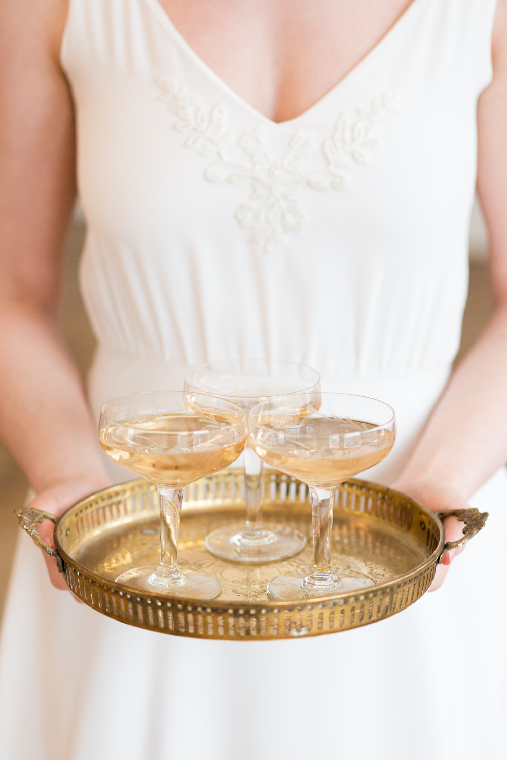 The Timeless Stylist - Wedding Styling - Champagne Saucers