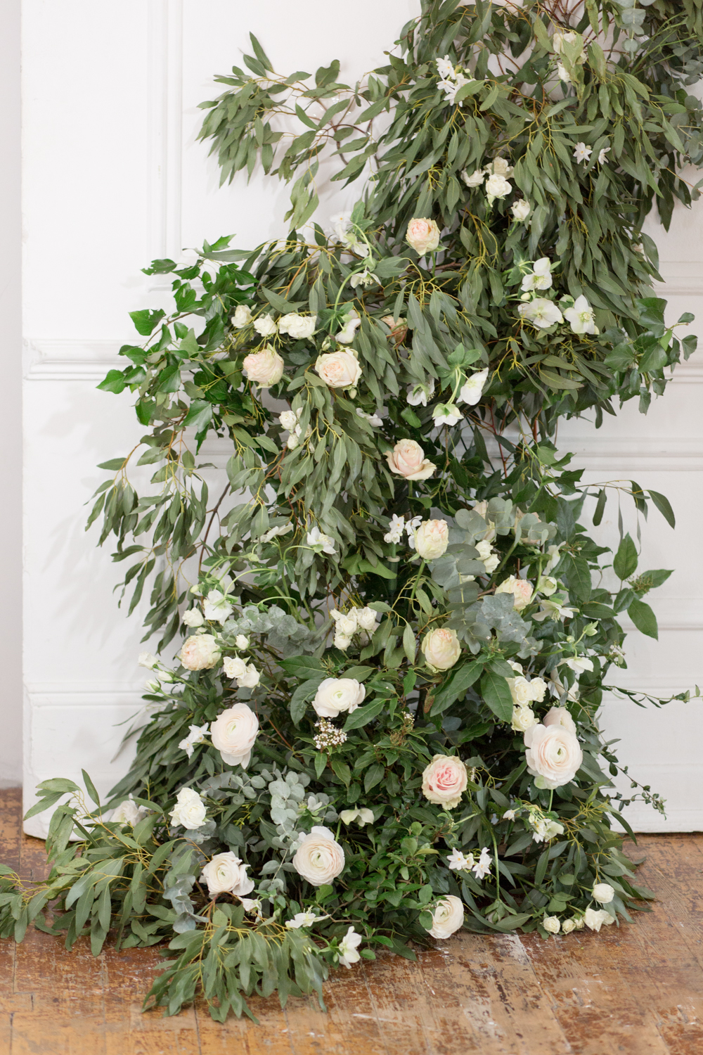The Timeless Stylist - Wedding Floral Installation