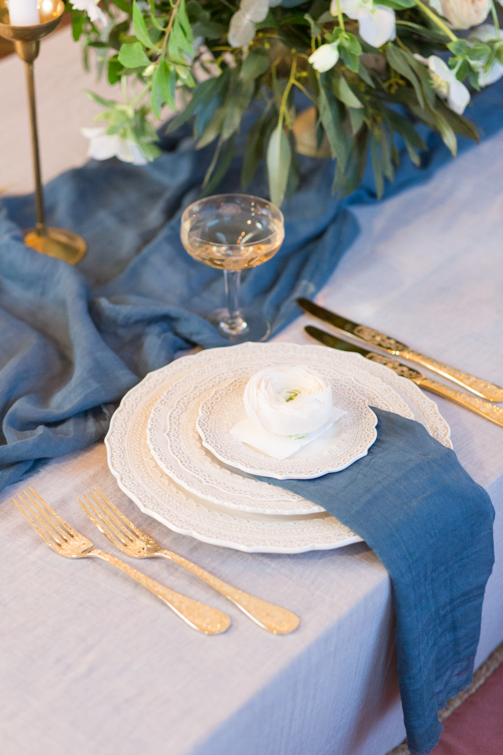 The Timeless Stylist - Wedding Place Setting