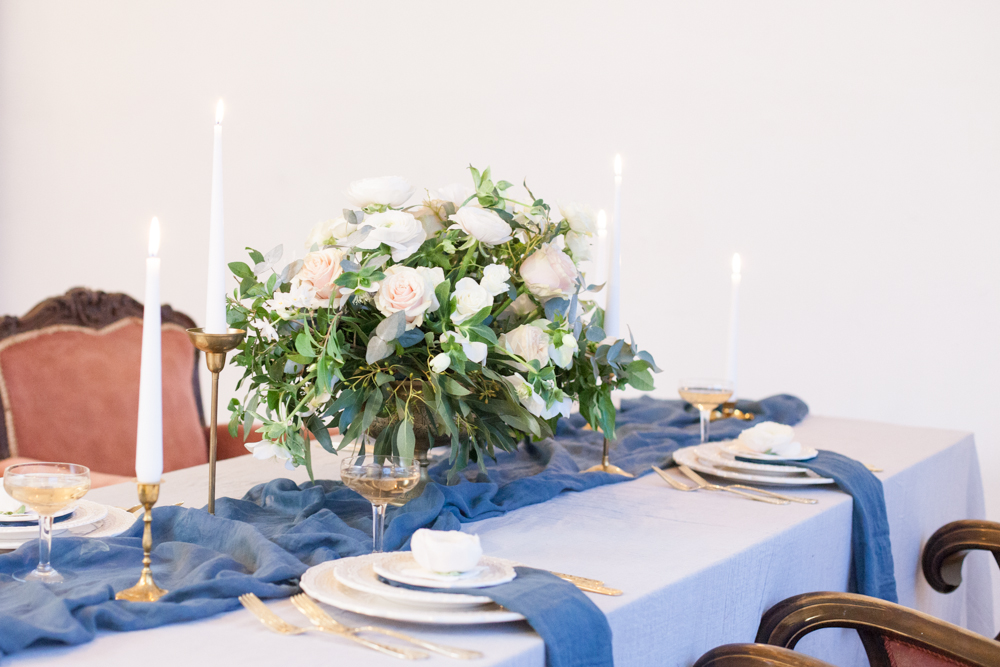 The Timeless Stylist - Wedding Table Flowers