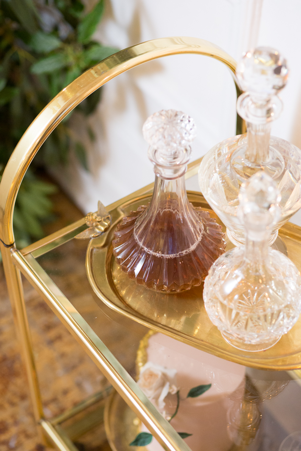 The Timeless Stylist - Vintage Decanters