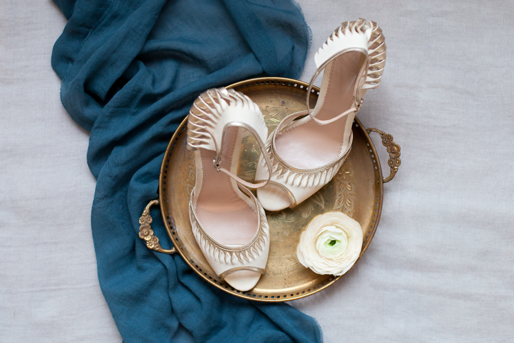Emmy  shoes on what of my brass trays available to hire