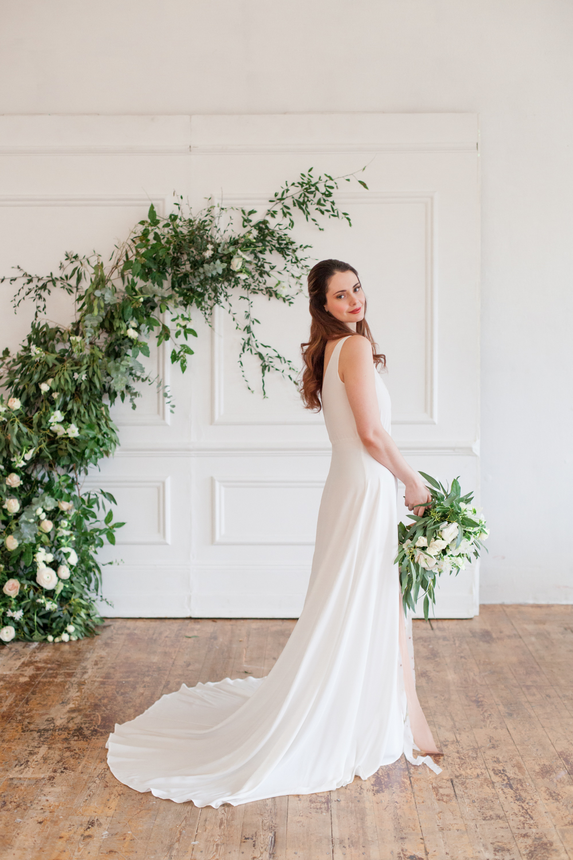 The Timeless Stylist-UK Wedding Styling-Elegant Wedding-Floral Installation