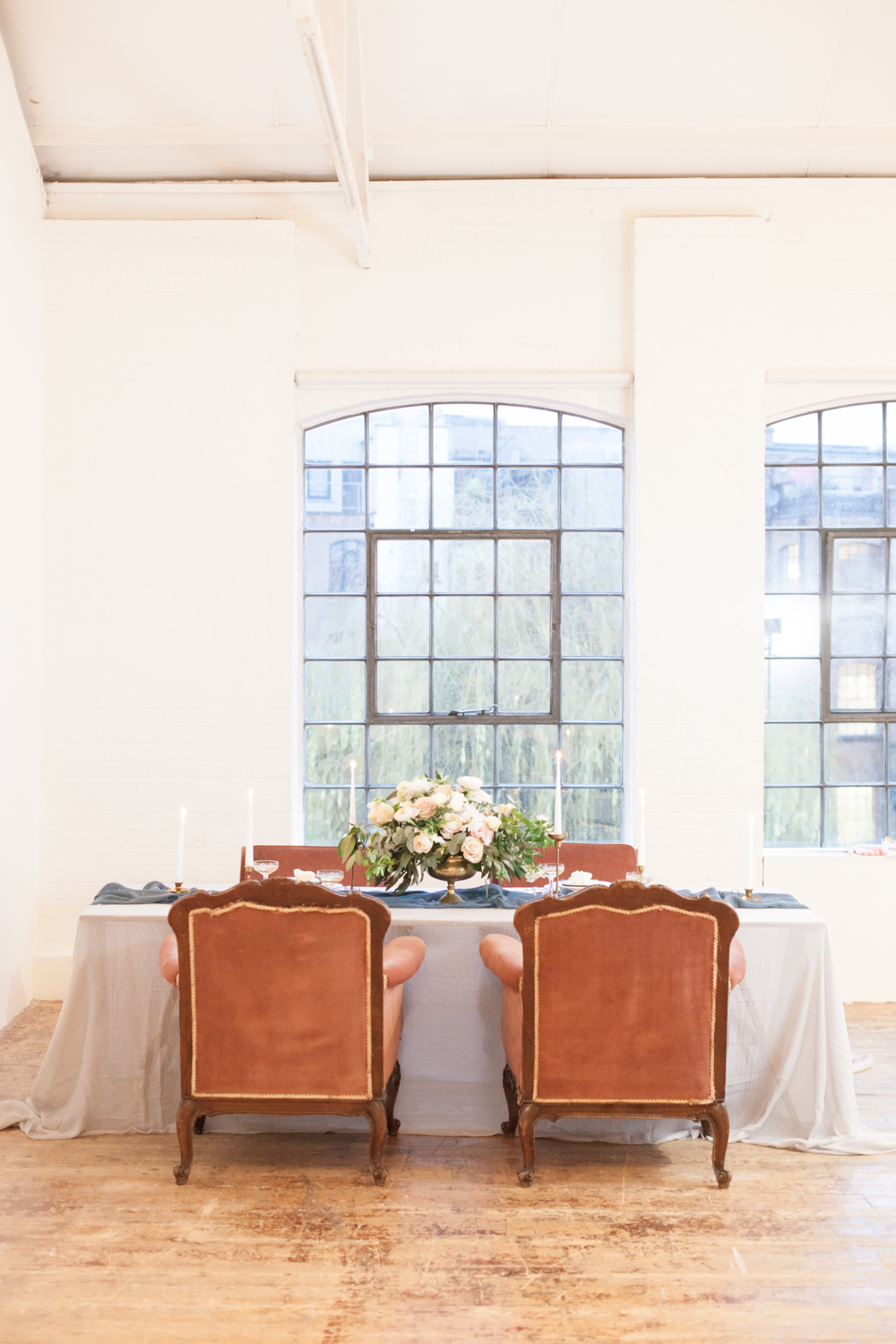 The Timeless Stylist-UK Wedding Styling-Elegant Wedding-Heirloom Chairs Wedding Tablescape