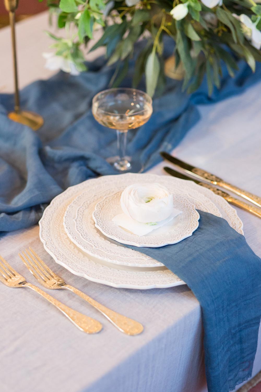 The Timeless Stylist-UK Wedding Styling-Elegant Wedding Table Place Setting