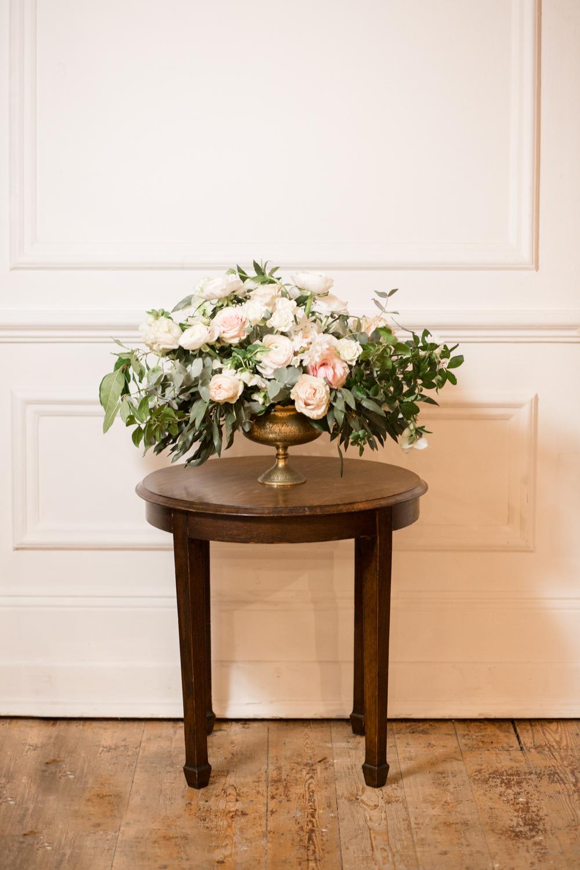 The Timeless Stylist-UK Wedding Styling-Elegant Wedding-Wedding Flowers-Brass Bowl Vase Prop Hire Kent