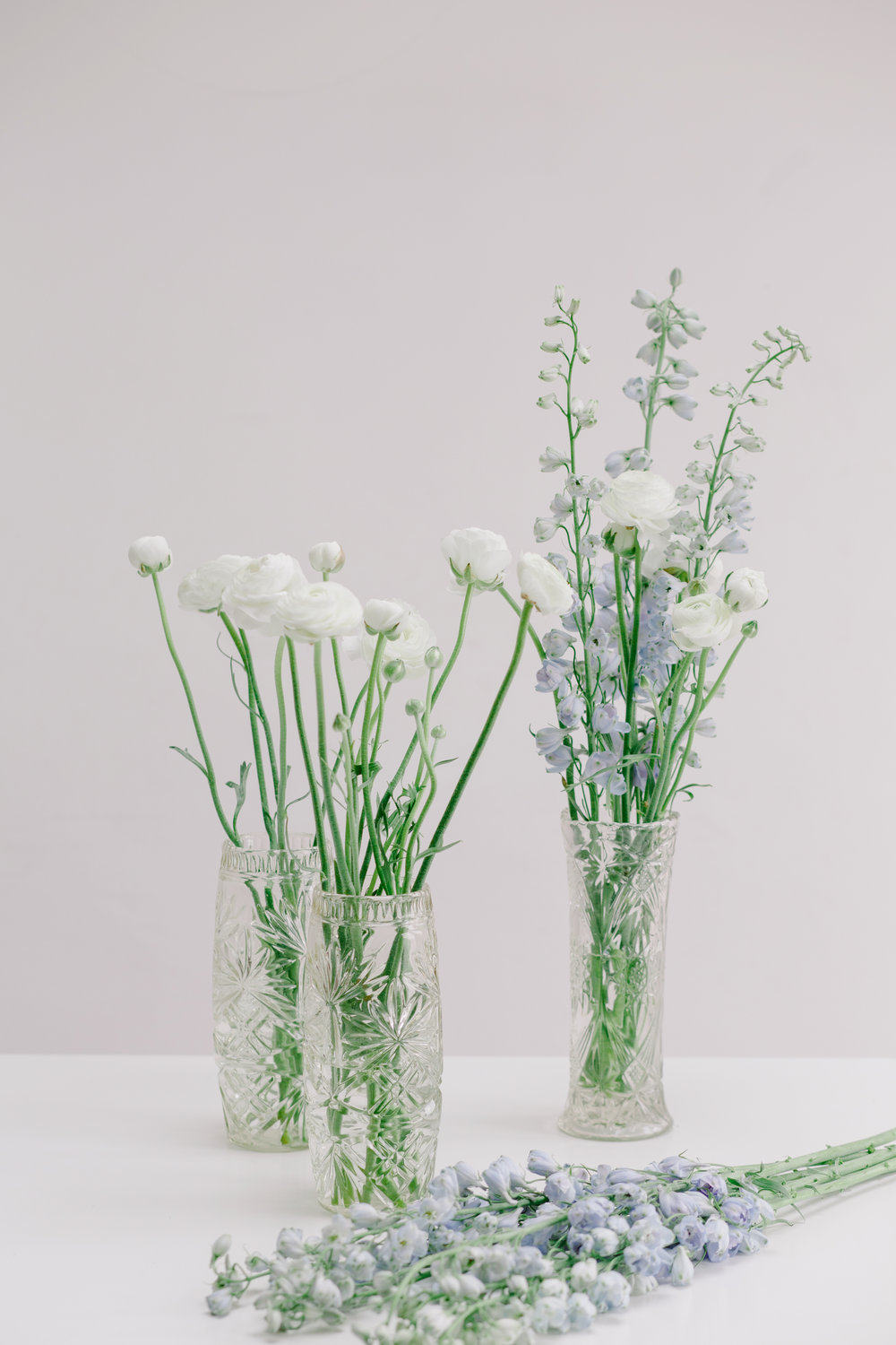 Cut Glass Vases: From £1.00