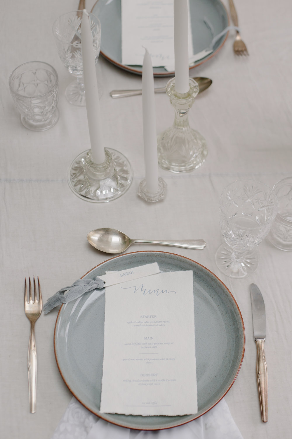The Timeless Stylist - Wedding Table Place Setting