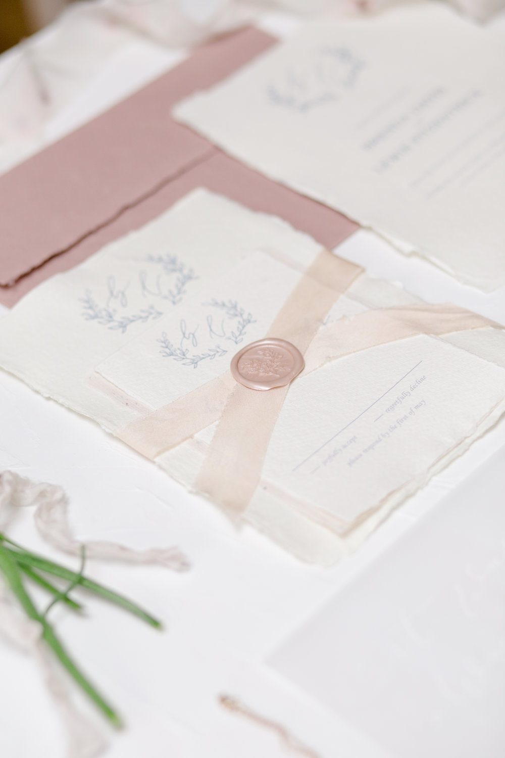 The Timeless Stylist - Fine Art Wedding Stationery Styling