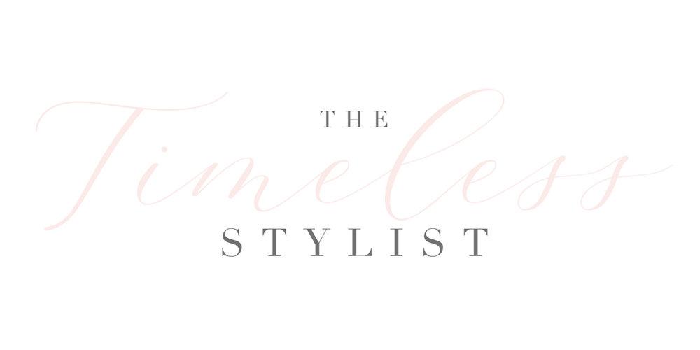 The Timeless Stylist-Branding-Timeless Logo-UK Wedding Styling