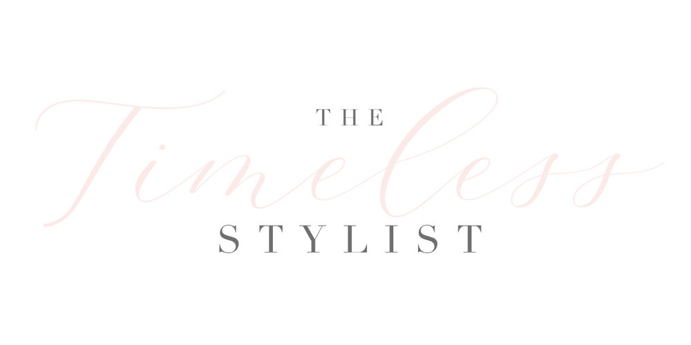 The Timeless Stylist Branding-Typography and Script Logo-UK Wedding Design and Styling