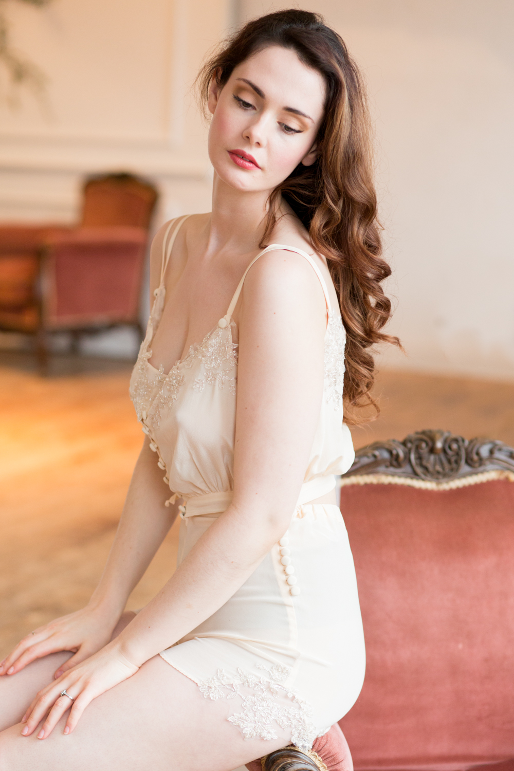 The Timeless Stylist-UK Wedding Styling-Elegant and Romantic Style Boudoir Shoot-Bridal Styling