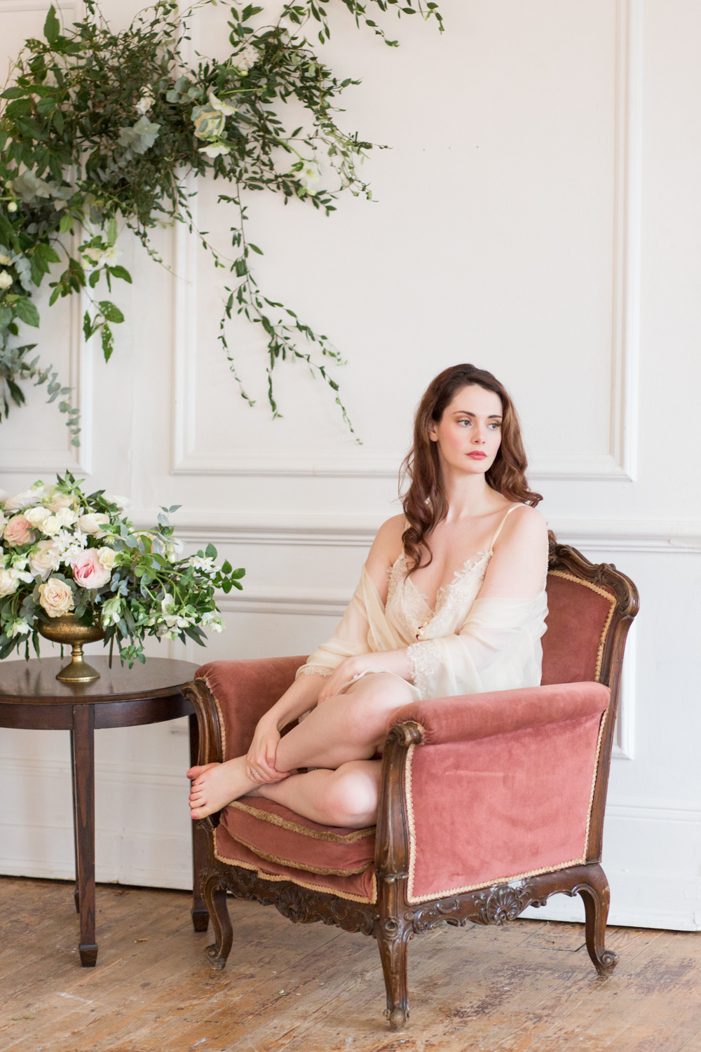 The Timeless Stylist-UK Wedding Styling-Elegant and Romantic Style Boudoir Shoot-Bridal Styling-Wedding Morning Prep