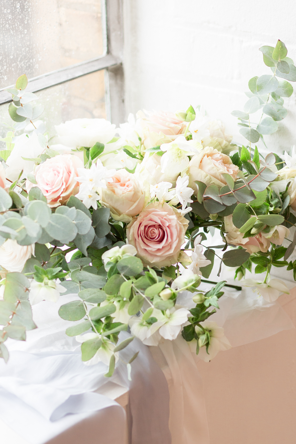The Timeless Stylist-UK Wedding Styling-Elegant and Romantic Style Boudoir Shoot-Bridal Bouquet