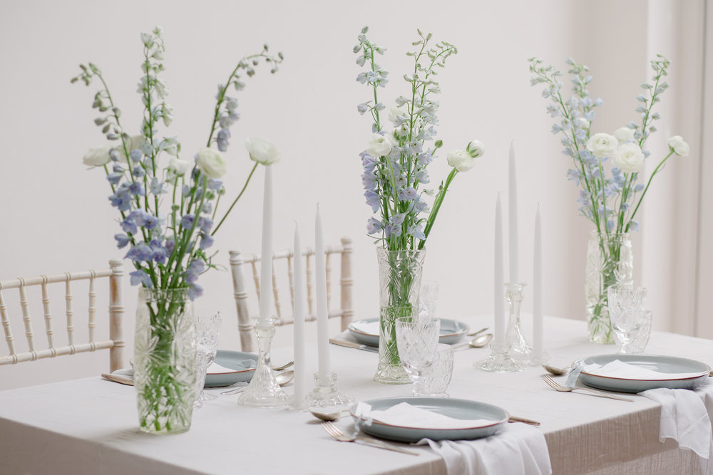 The Timeless Stylist-A Simple Summer Tablescape-Wedding Table Styling UK