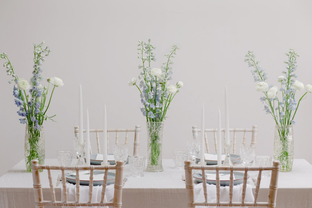 The Timeless Stylist-UK Wedding Design and Styling-Simple Summer Tablescape