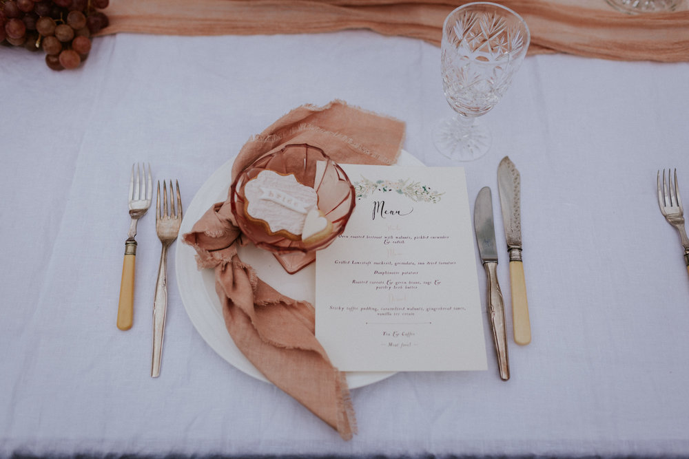 The Timeless Stylist - Wedding Place Setting - Vintage Cutlery
