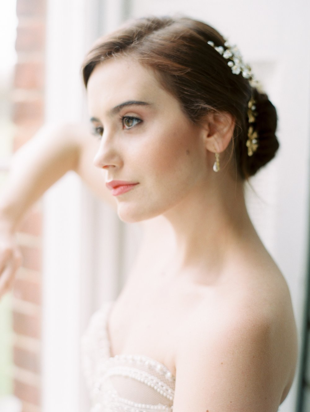 The Timeless Stylist-Natural Wedding Makeup