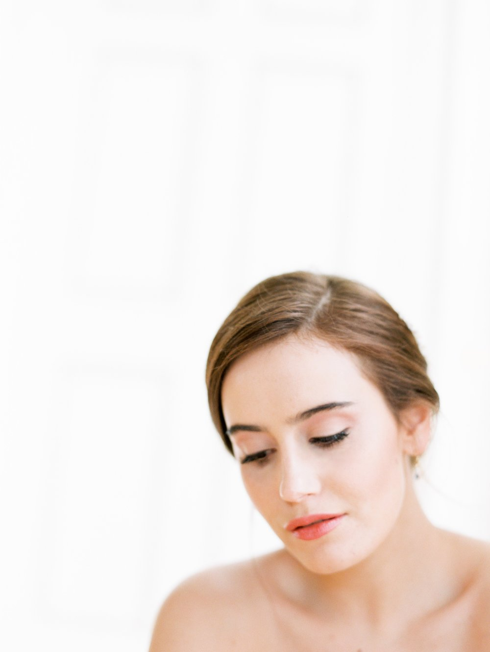 The Timeless Stylist-Neutrals Wedding-Natural Hair and Makeup
