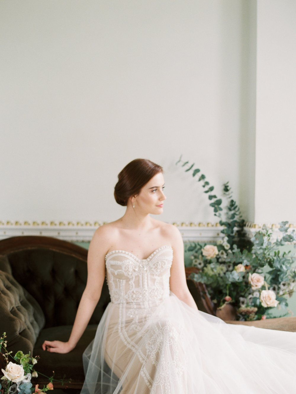 The Timeless Stylist-Antique Chaise Wedding Props