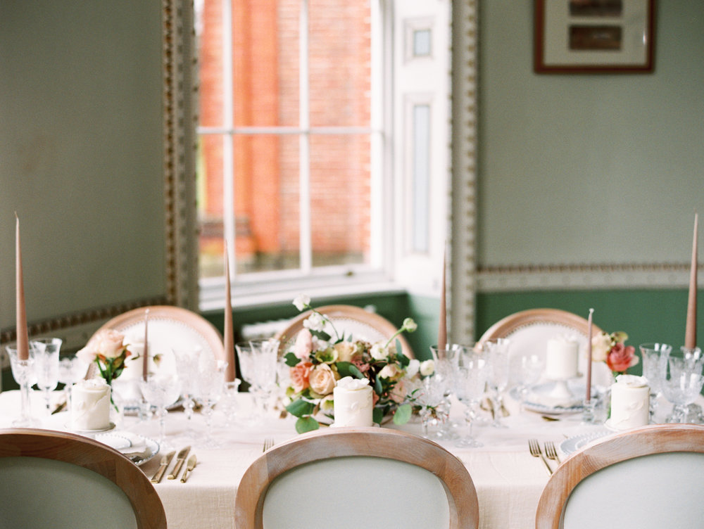 The Timeless Stylist-Elegant and Romantic Wedding Styling-Timeless Dinner Party Tablescape