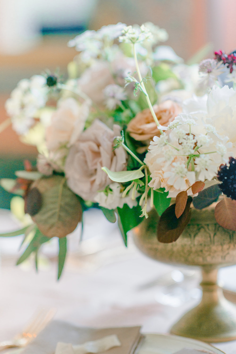 The Timeless Stylist-Elegant and Romantic Wedding Styling-Autumn Flowers
