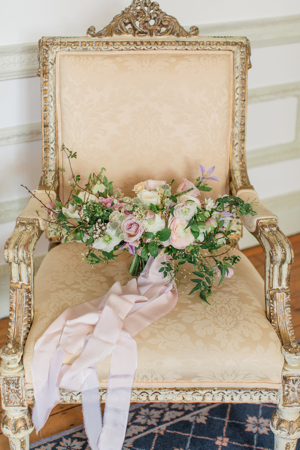 The Timeless Stylist-Elegant and Romantic Wedding Design and Styling-Elegant Pastel Wedding Bouquet