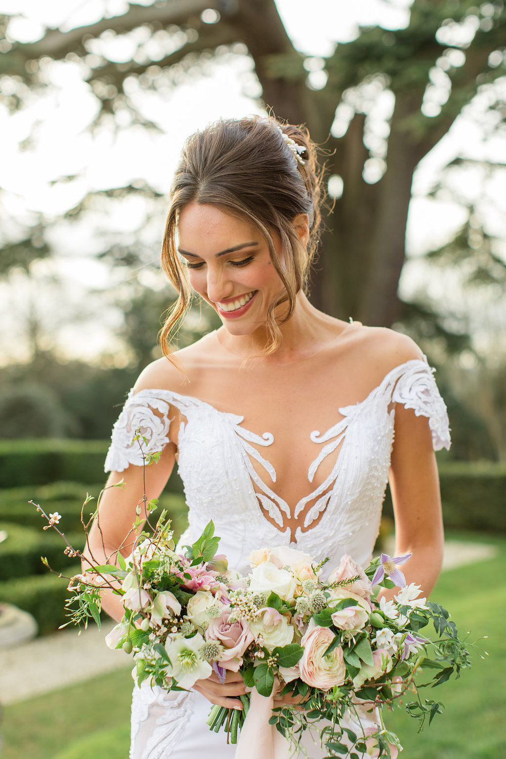 The Timeless Stylist-Elegant and Romantic Wedding Styling-Timeless Bride and Bouquet