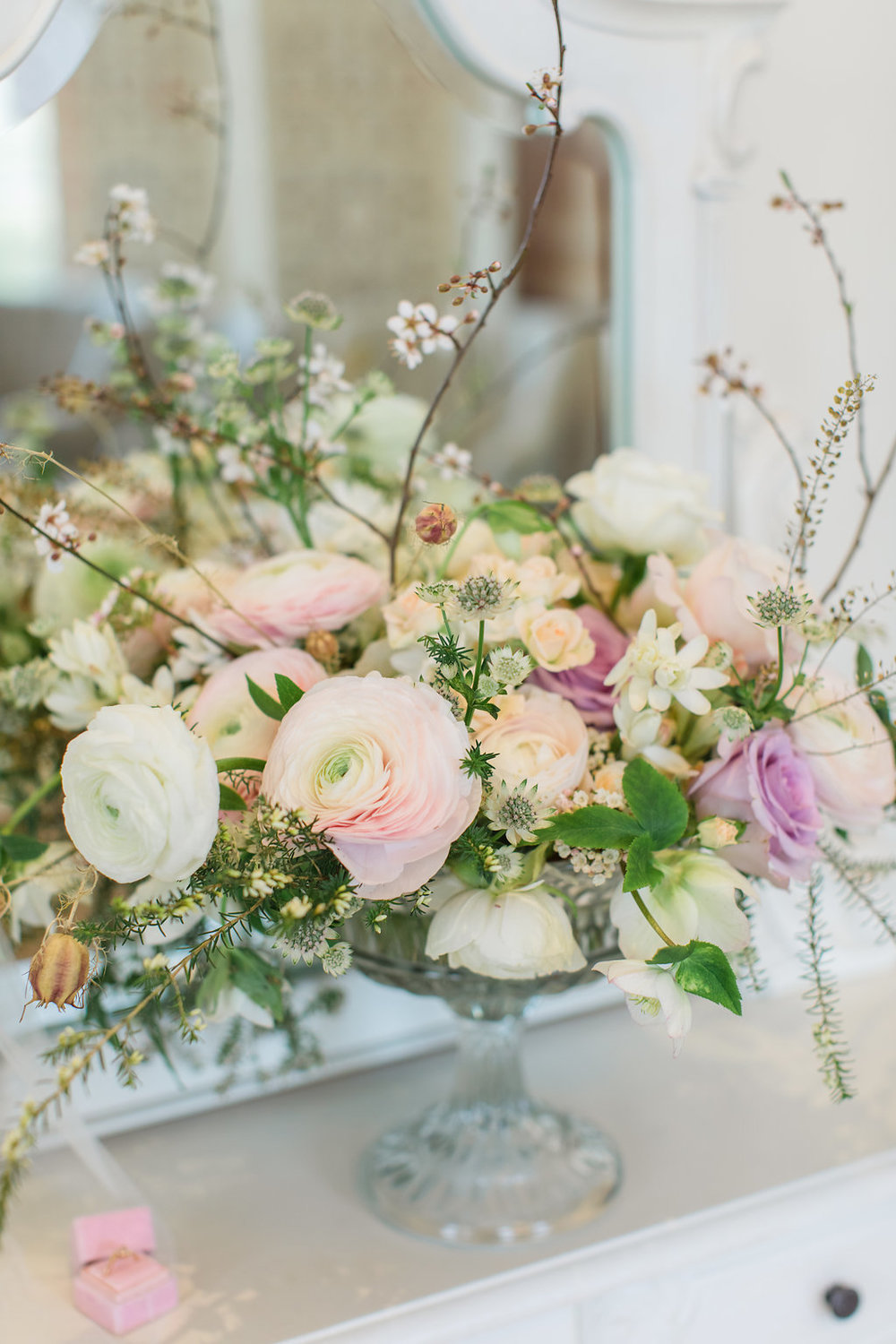 The Timeless Stylist-Elegant and Romantic Wedding Styling-Spring Wedding Flowers