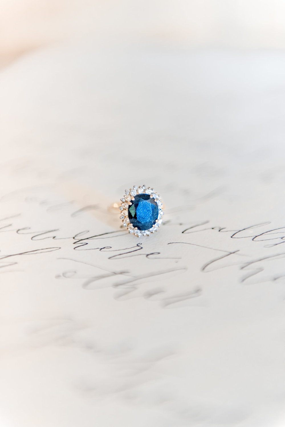 The Timeless Stylist-Elegant and Romantic Wedding Styling-Antique Engagement Ring