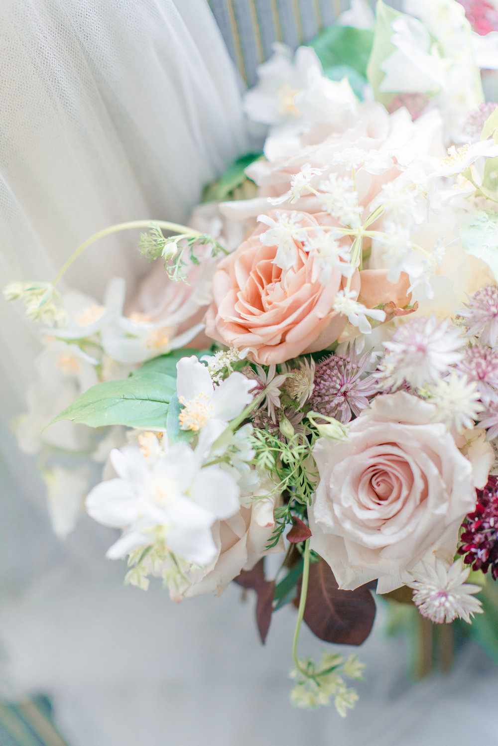 The Timeless Stylist-Elegant and Romantic Wedding Styling-Soft and Gentle Wedding Bouquet