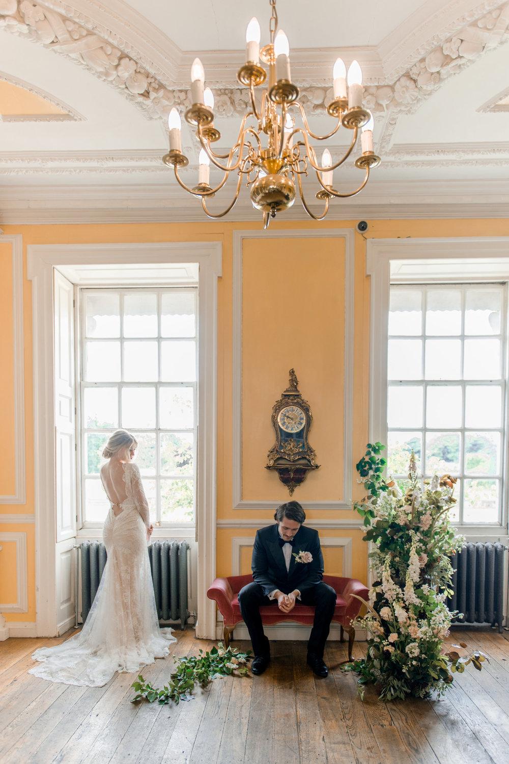 The Timeless Stylist-Elegant and Romantic Wedding Styling-Stately Home Ballroom Wedding Inspiration