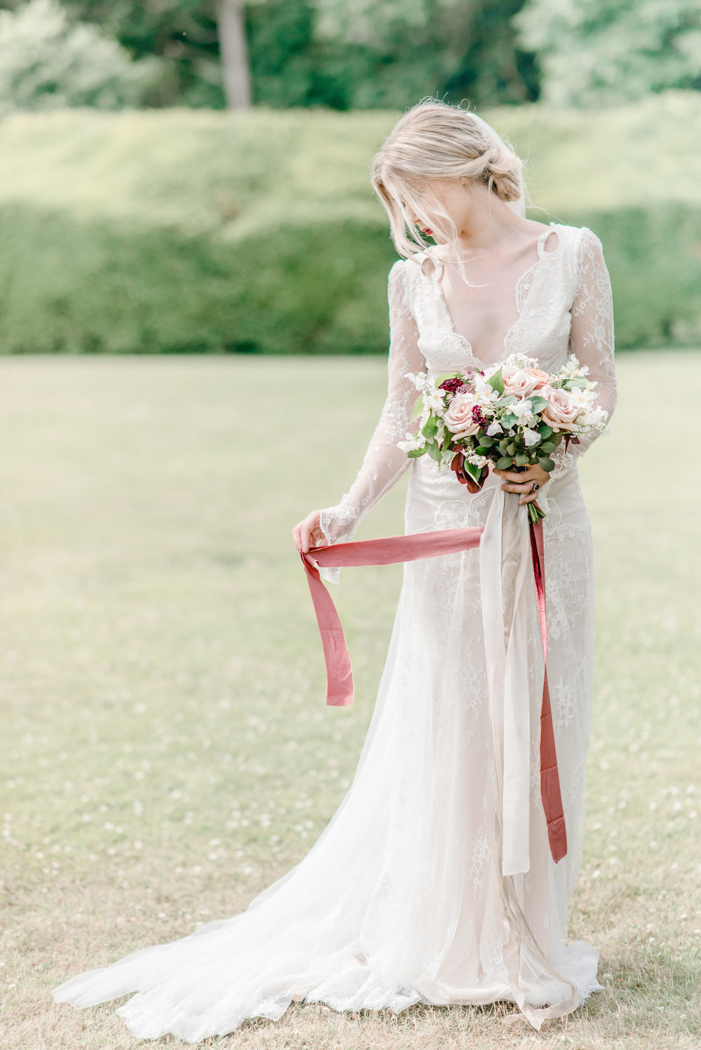 The Timeless Stylist-Elegant and Romantic Wedding Styling-Timeless Bridal Look