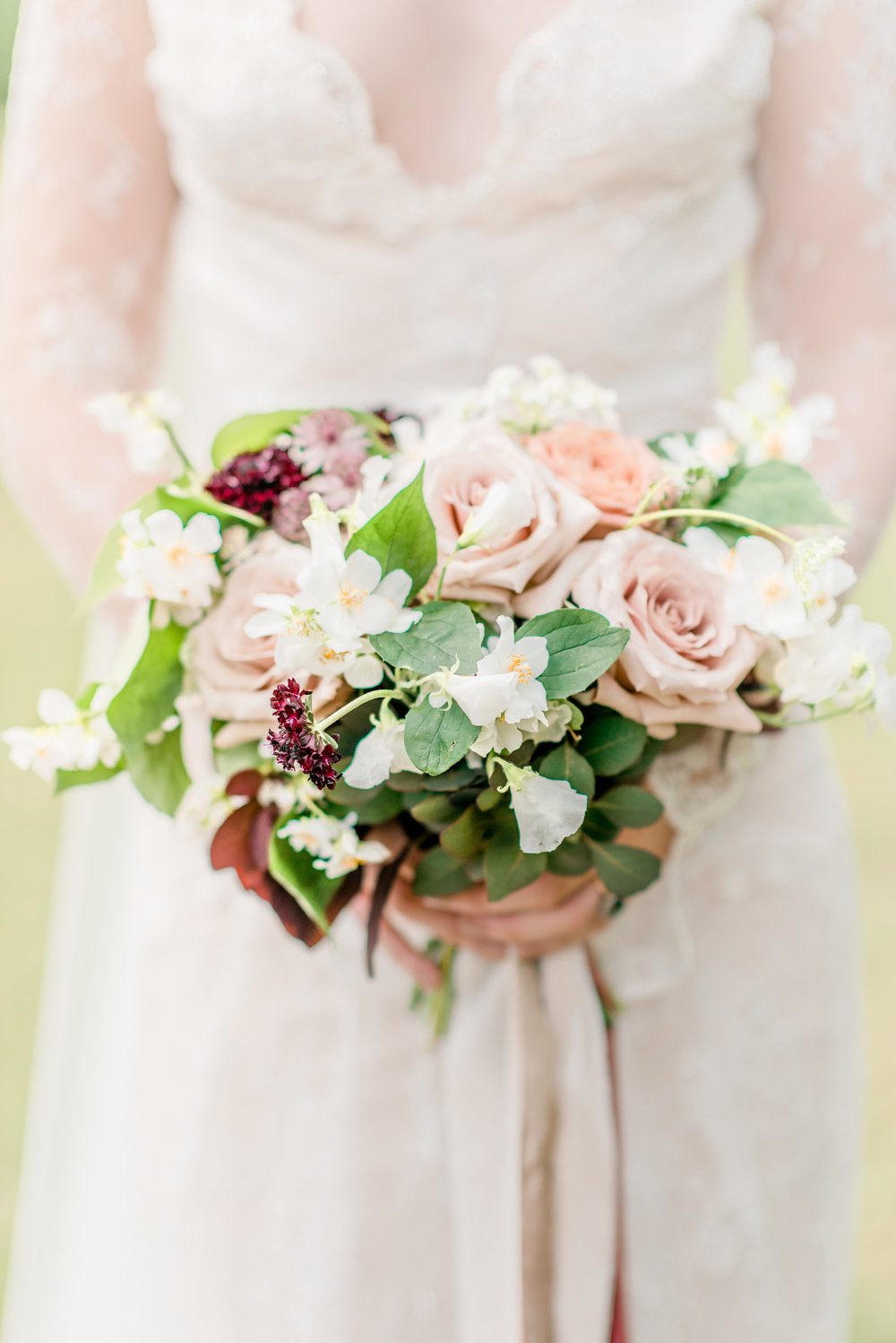 The Timeless Stylist-Elegant and Romantic Wedding Styling-Pink and Red Wedding Bouquet