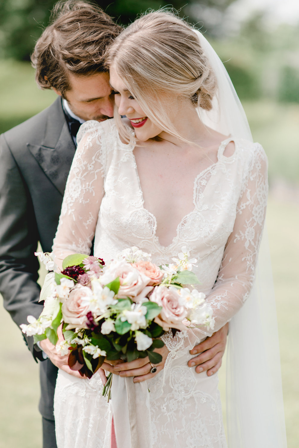 The Timeless Stylist-Elegant and Romantic Wedding Styling-Bride and Groom