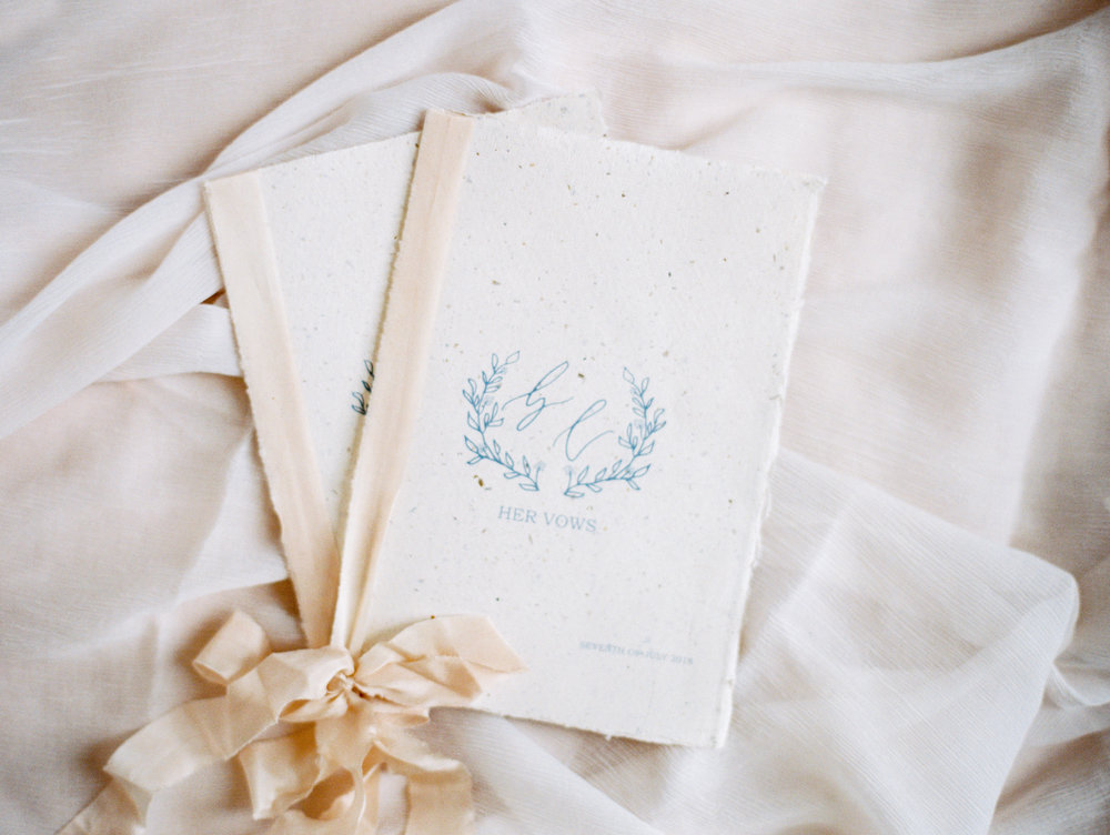 The Timeless Stylist-Elegant and Romantic Wedding Styling-Fine Art Calligraphy Vow Books.jpg