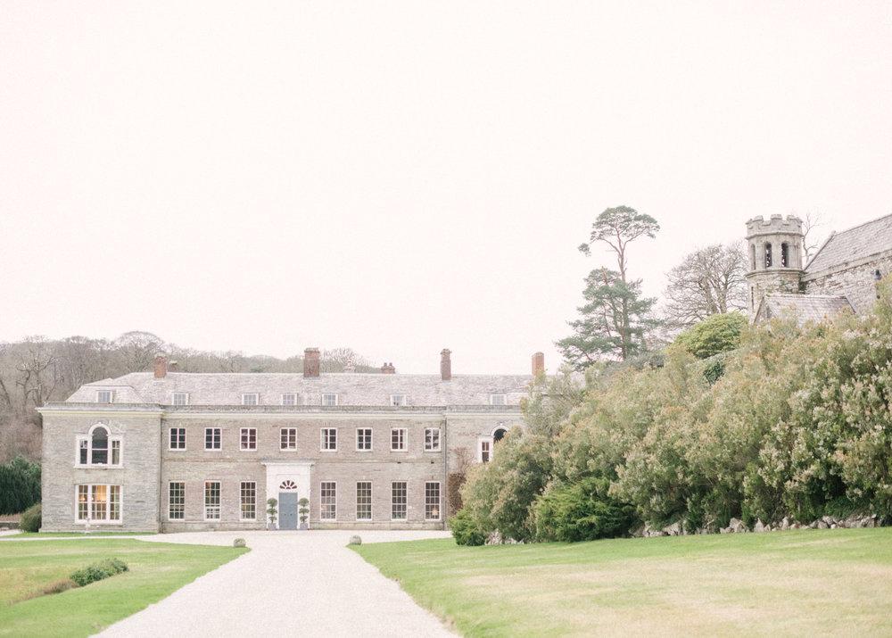Stately Home Wedding Venue-Boconnoc-Elegant and Romantic Wedding Styling-The Timeless Stylist