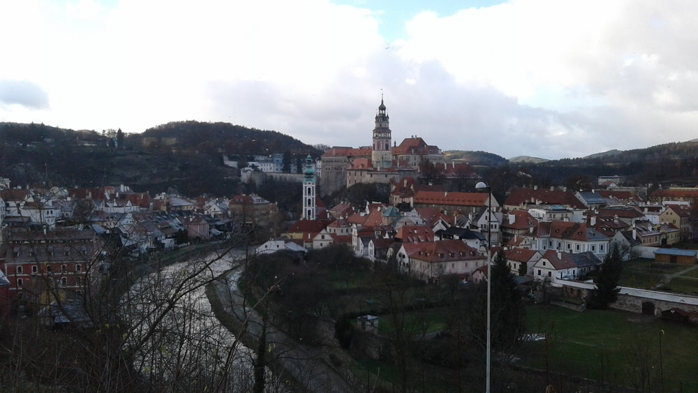 Cesky Krumlov, in all its splendor.