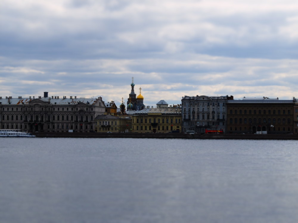 The Saint Petersburg Riverfront.