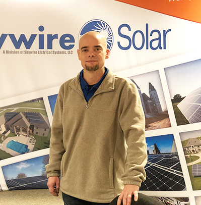Mike Mertins - Solar Energy ConsultantSkywire Team Member since 2016