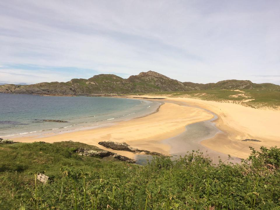 Colonsay's glorious, mile-long Kiloran beach