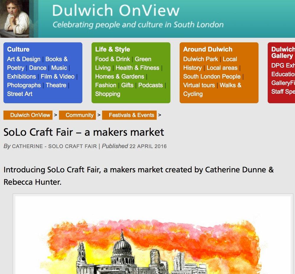 Dulwich OnView