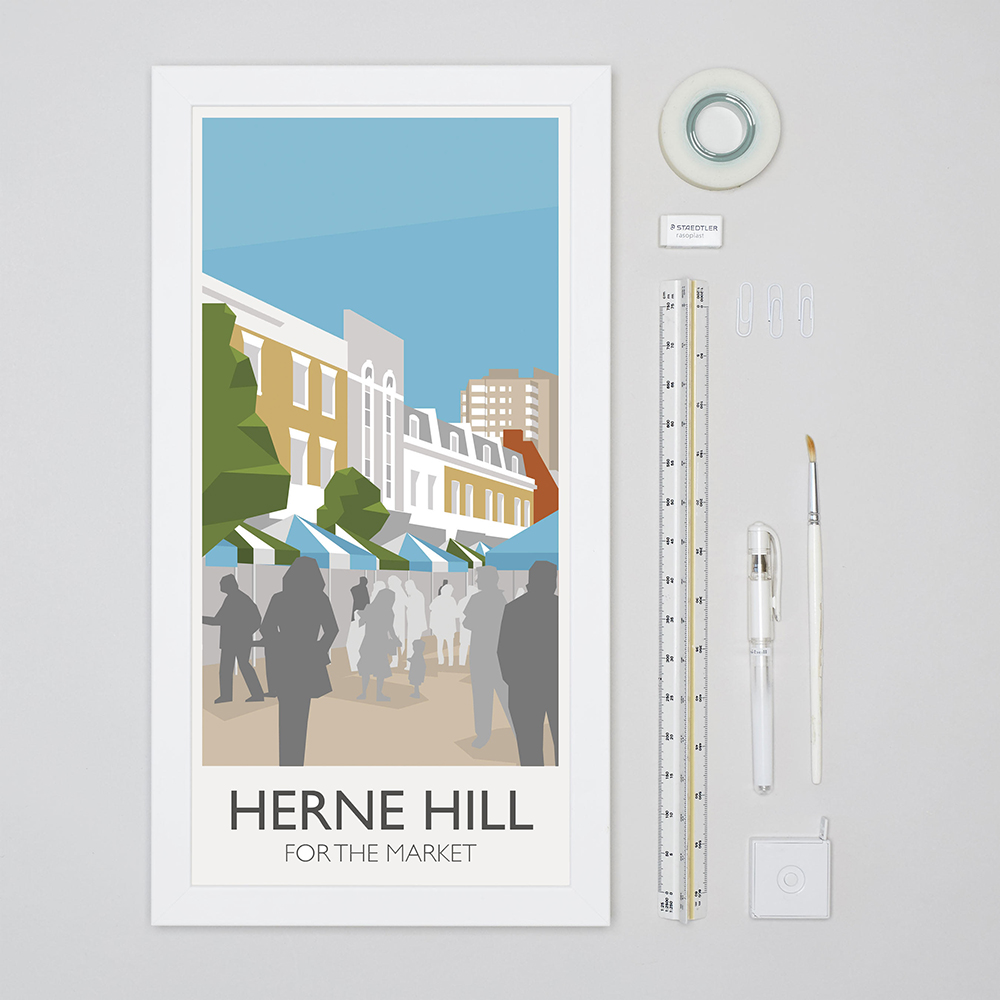 Herne Hill Place in Print