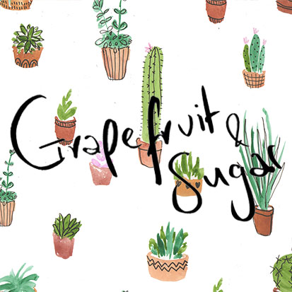 Grapefruit and Sugar