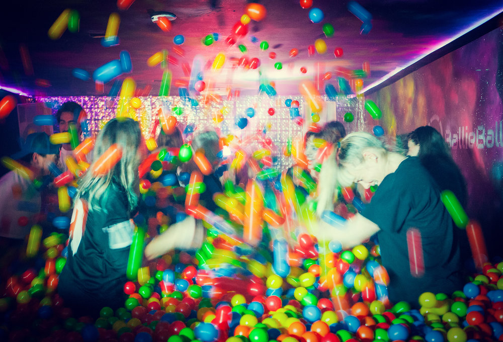 1990's Ball Pit Disco