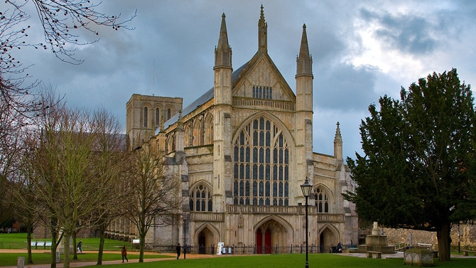 Winchester Cathedral exterior