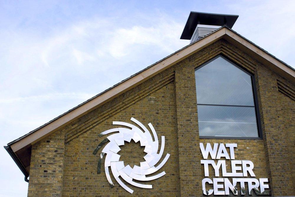 Wat Tyler Centre signage – image courtesy Dotco