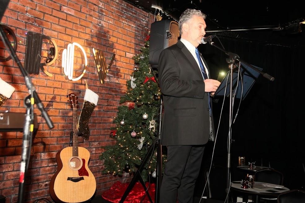 Opening by FABG Chairman Vesa Jäämuru -
