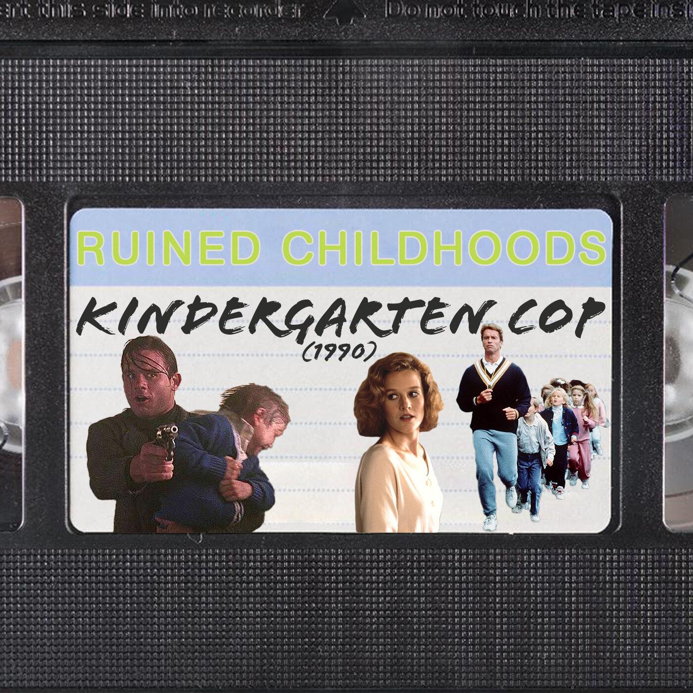 Kindergarten Cop 1990 Jon D Richardson